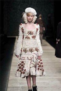 Рябина на снегу. Платье от Kenzo Наши воплощения
