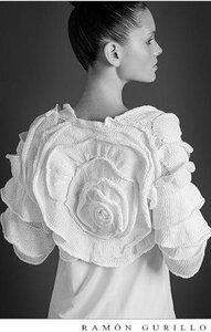 Сказочная роза от Ramon Gurillo - вяжем болеро и не только.. Наши воплощения