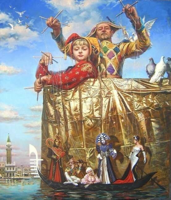 картины Туркина Олега
