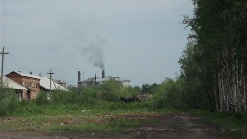Фото города Инта №993  Улица Заводская со стороны дома Промышленная 8 19.06.2012_12:24