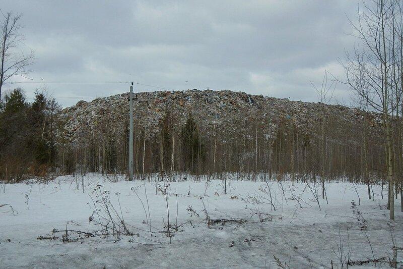 Кировская городская свалка (полигон ТБО) в Костино