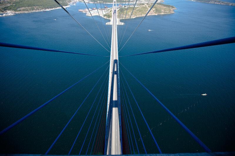 русский, мост