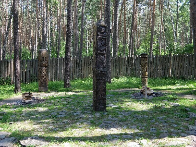 Томская писаница - Славянский мифологический лес