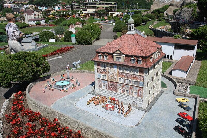 """Парк """"Швейцария в миниатюре"""""""