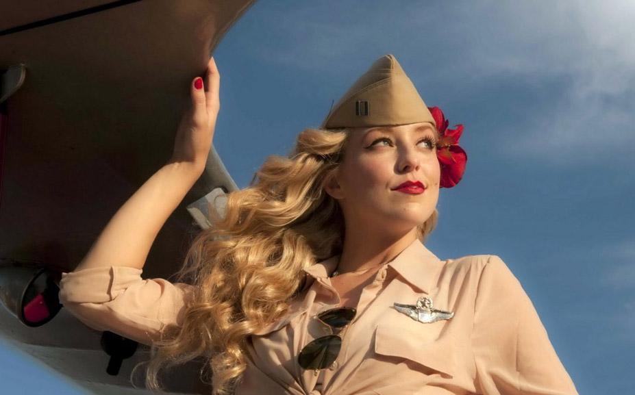 happiness - полеты во сне и наяву / красивые девушки и самолеты