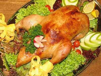 Запеченная курица