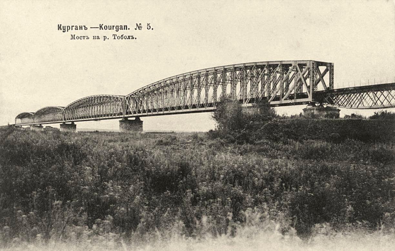 Мост на реке Тобол