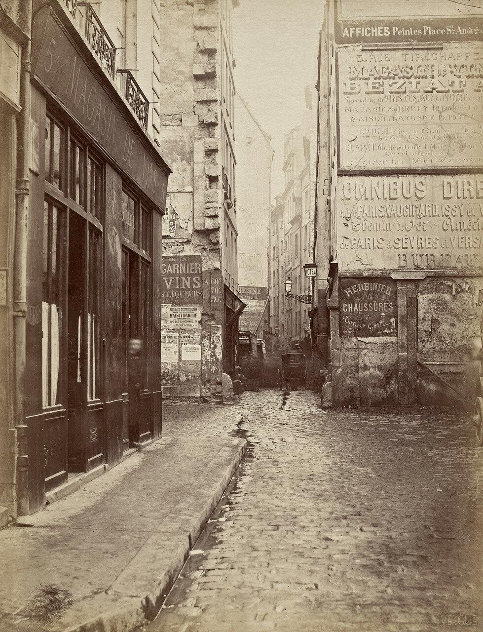 Рю де Риволи. 1866