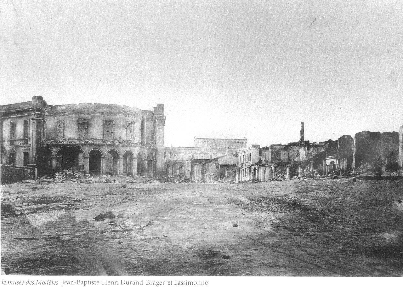 Развалины музея