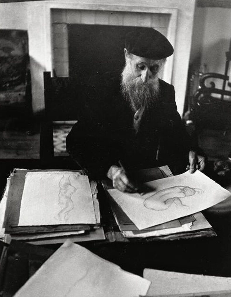 1937. Аристид Майоль