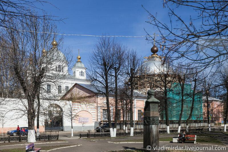 Казанский монастырь. Ярославль. Золотое Кольцо.