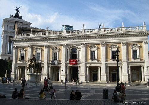 Виртуальный тур в капитолийские музеи