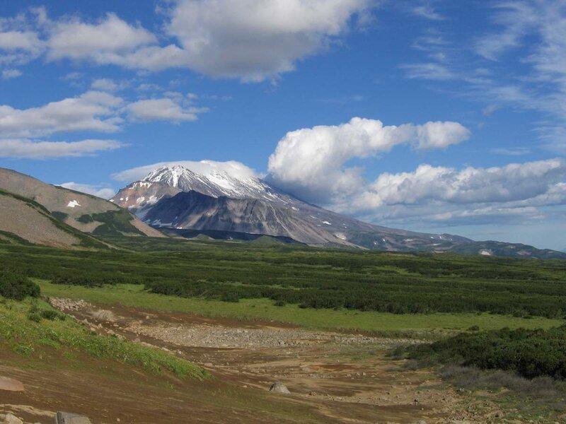 Жупановский вулкан, Дзензур, Камчатка