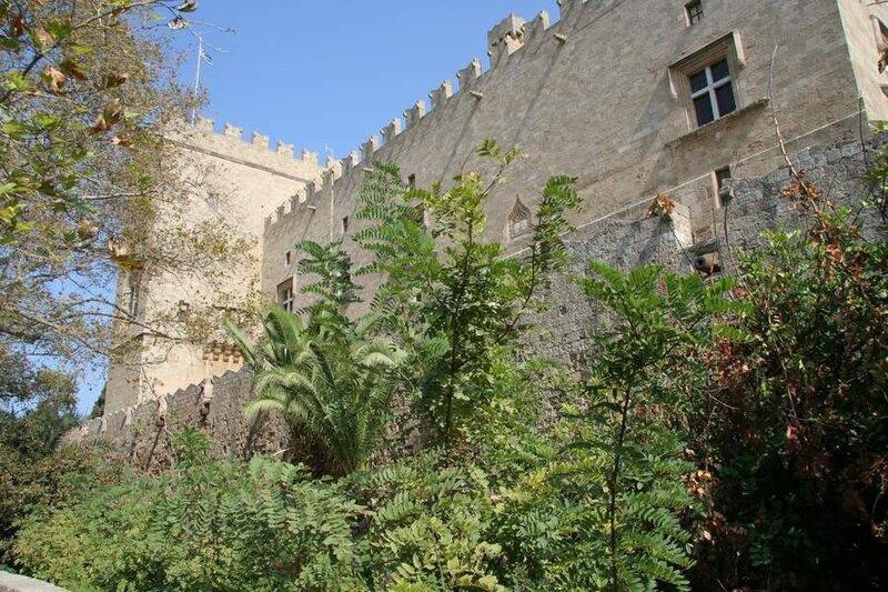 Родосская крепость, Дворец Великих Магистров