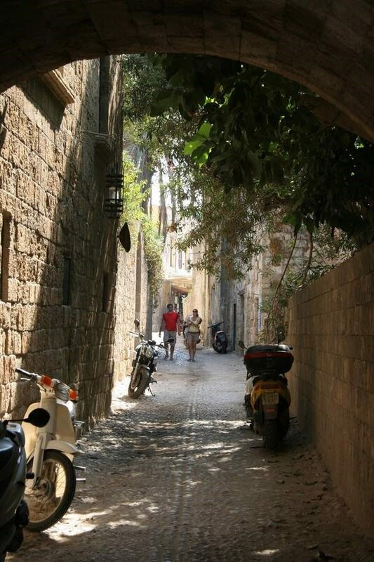 Улочка в Родосской крепости
