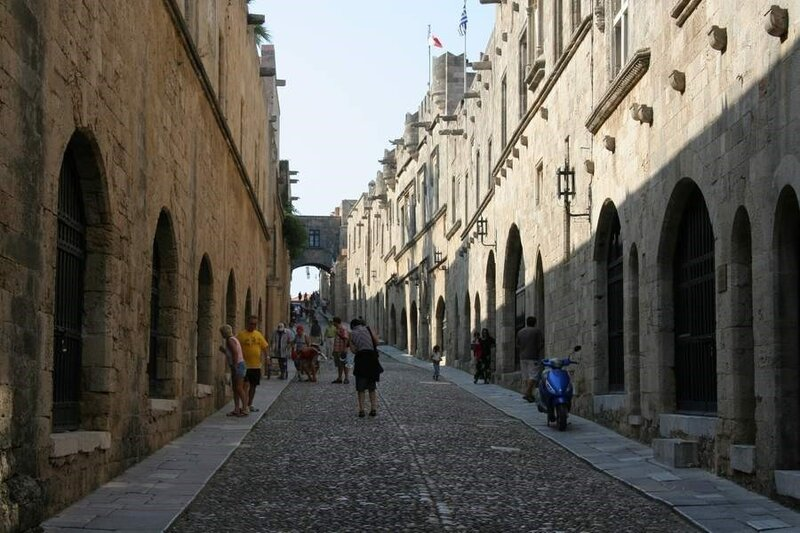 Родосская крепость, Улица Рыцарей