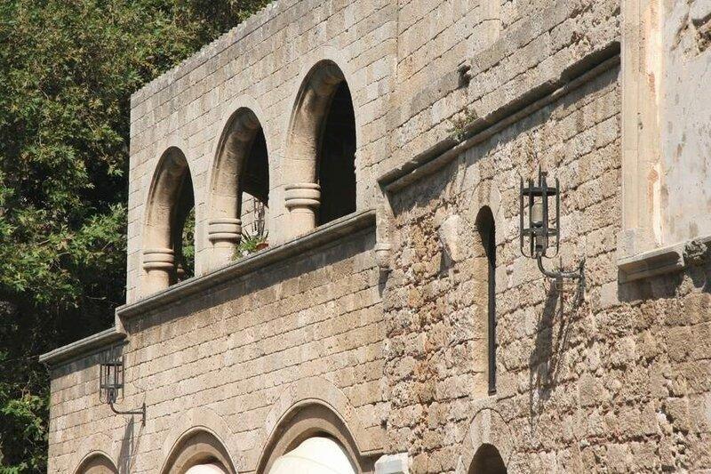 Родосская крепость, Фрагмент здания