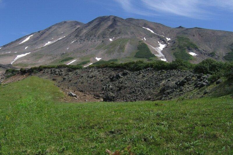 вулкан Дзензур, Камчатка