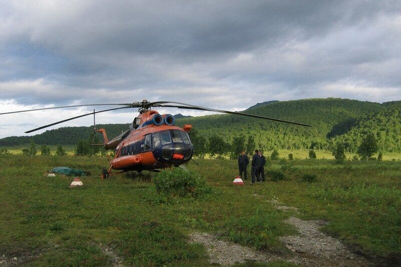 Посадка в Налычево