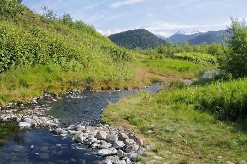 Река Горячая