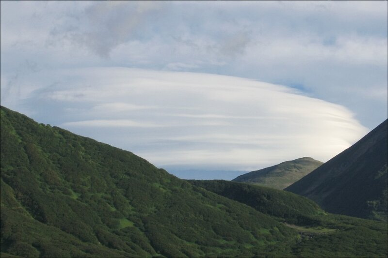Облако, Камчатка