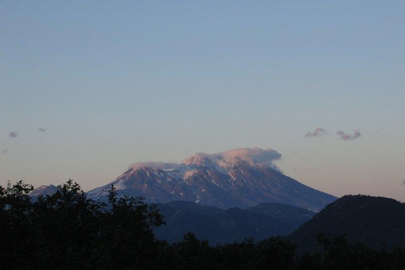 Камчатка, вулкан Жупановский