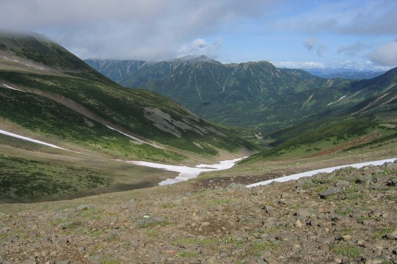 Пиначевский перевал, Камчатка