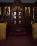 В храме Свято-Троицкого монастыря (Джорданвилль, США)