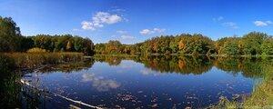 Озеро панорама, день, озеро