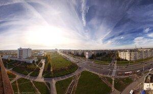 Светопанорамко панорама, город, день, свет