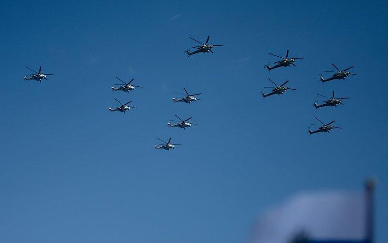 Вертолёты Миля