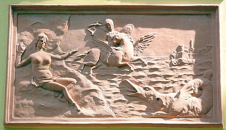 Андромеда и Персей, Санкт-Петербург, Летний дворец