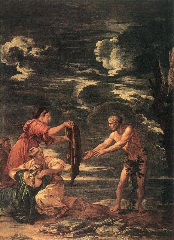 Роза Сальватор, Одиссей и Навзикая (1615-1673)