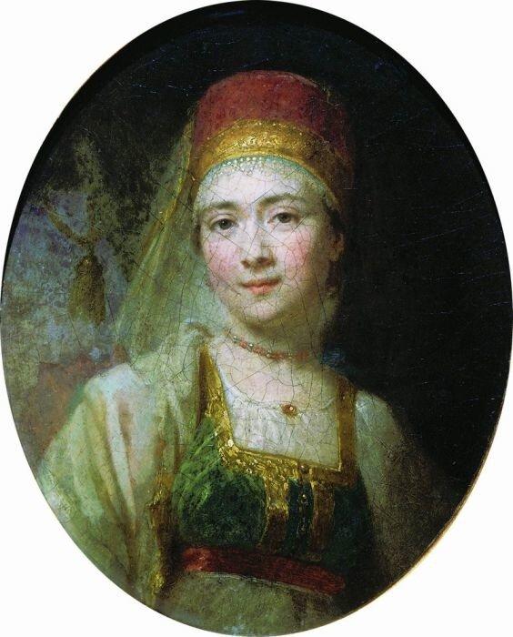 Боровиковский, Кормилица Кристина