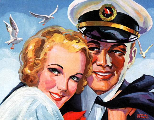 Рекламные постеры 50-х годов, США