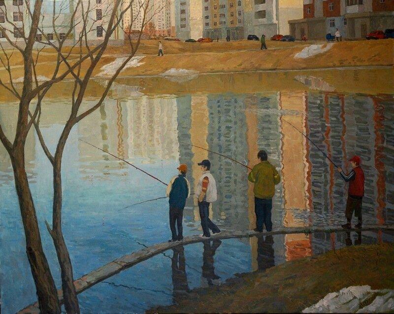 Авдеев А.С. На рыбалке