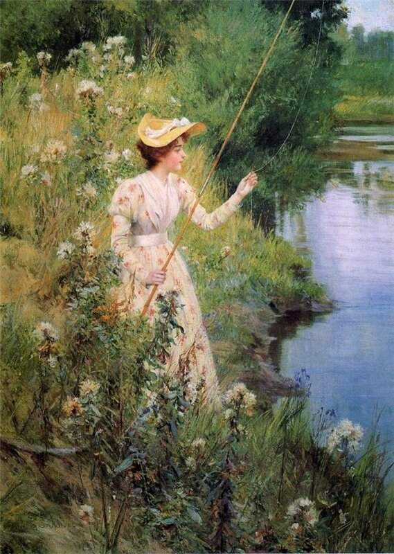 ...мнение, что женщина на рыбалке приносит одни только неприятности: не...