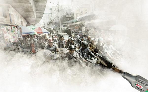 Работы фотохудожника Херу Суриоко