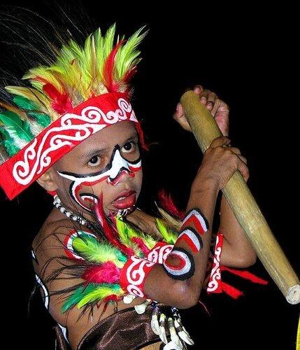 Костюмы папуаса на новый год своими руками