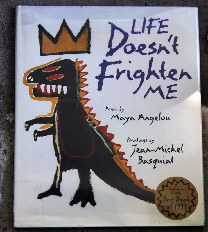 life dosent frighten me Life doesn't frighten me at all maya angelou's brave, defiant poem celebrates the courage within each of us, young and old from the scary thought of panthers in the park to the unsettling scene of a new classroom, fearsome images are summoned and dispelled by the power of faith in ourselves.