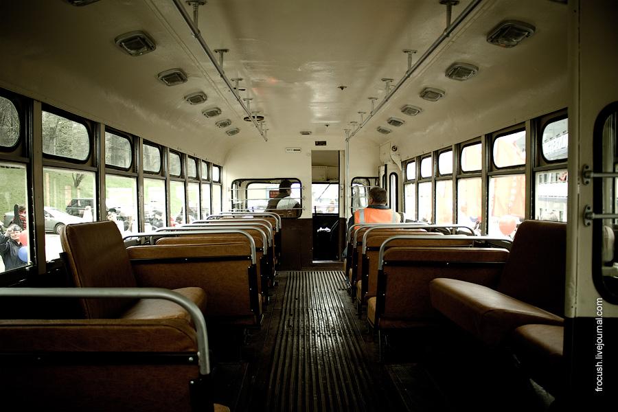 Салон троллейбуса МТБ-82