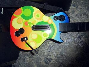 """guitar hero """"pop"""" faceplate"""