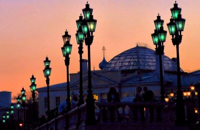 фонарики вечерние...московские