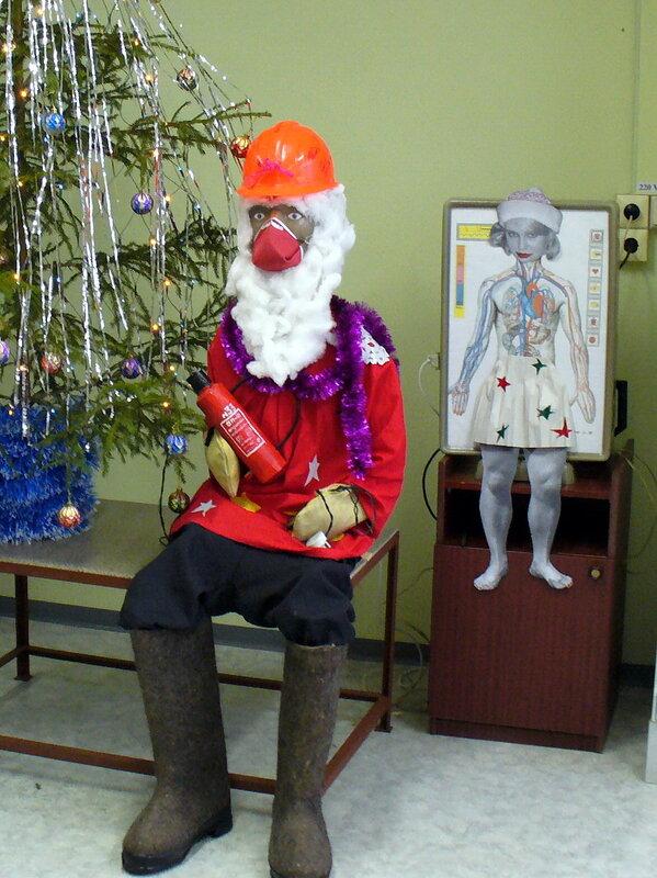 Дед мороз - пожарный