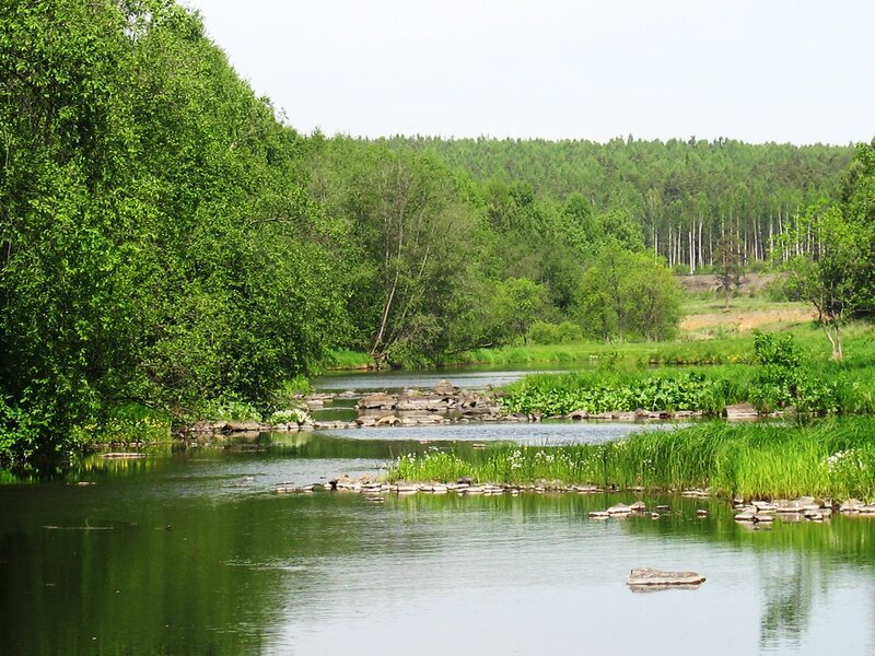 Угадай, куда течет река?