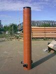Канализационный колодец - глубина (высота) 5 метров