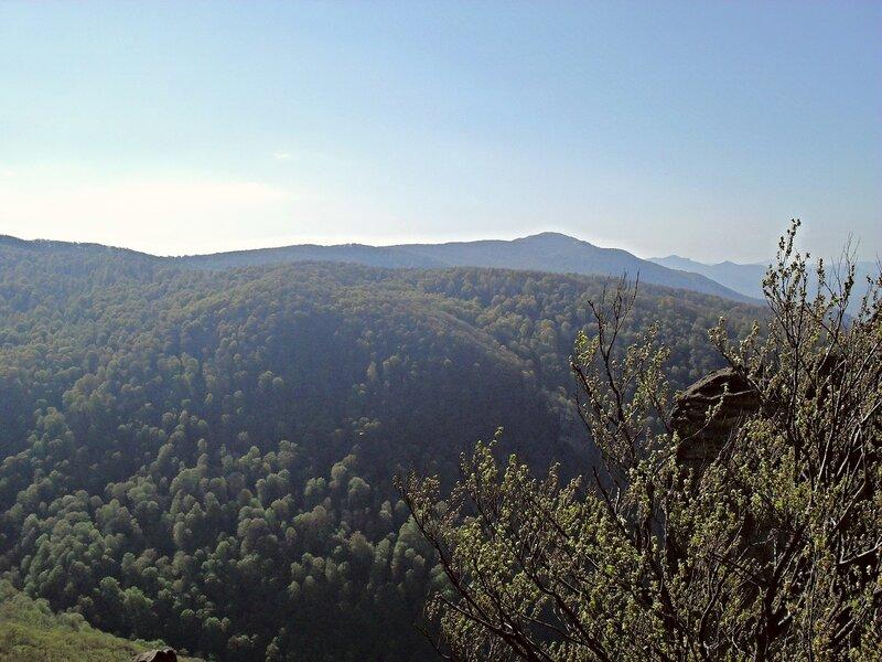Вид на вершину горы Семашхо ... SDC15901
