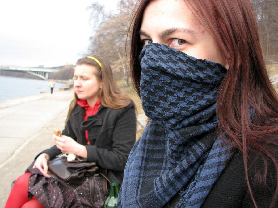 2010, весна, волосы, город, девушка, женщина, лицо, молодая, москва, неформалы, россия