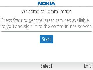nokia communities - бета-версия программы для социальных сетей