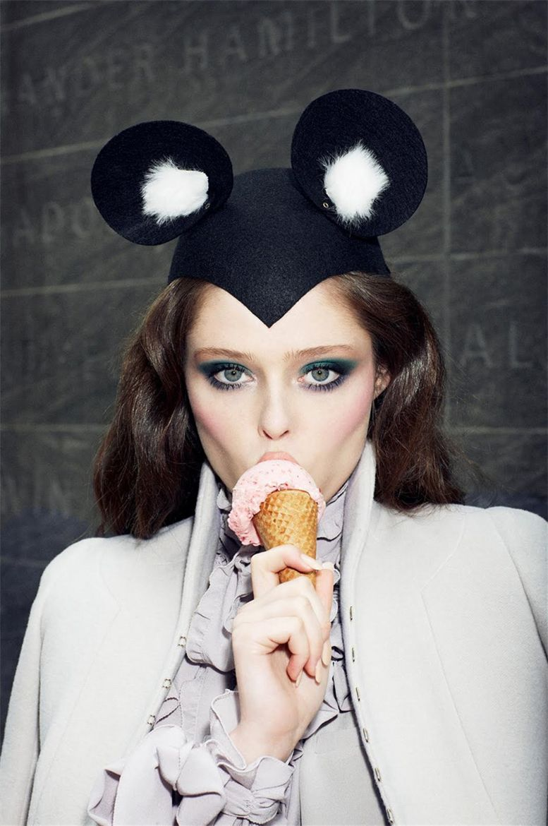 Коко Роча / Coco Rocha by Arthur Elgort in Vogue